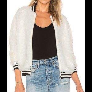 NEW NWT Lovers + Friends Sequin Jacket XS